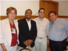 Profa. Dra. Maria Betânia Toralles, Prof. Gildásio Carvalho, Prof. Dr. Manoel Sarno e Prof. Dr. Carlos Menezes