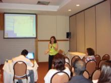 Profa. Dra. Angelina Acosta, chefe do Serviço de Genética Médica - UFBA