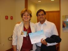 Prof. Dr. Antonio Carlos Vieira Lopes e Profa. Dra. Maria Betânia Toralles