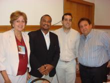 Profa. Dra. Maria Betânia Toralles, Prof. Gildásio Carvalho, Prof. Dr. Manoel Sarno, Prof. Dr.Carlos Menezes