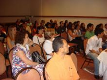 Plateia da 1ª Jornada Científica do SIAT/BA 2008, no Hotel Mercure em Salvador- Bahia