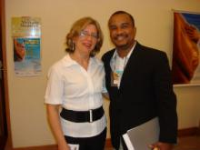 Profa. Dra. Maria Teresa Sanseverino e Prof. Gildásio Carvalho