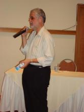 O Secretário de Saúde Dr.Jorge Solla, abrindo o evento